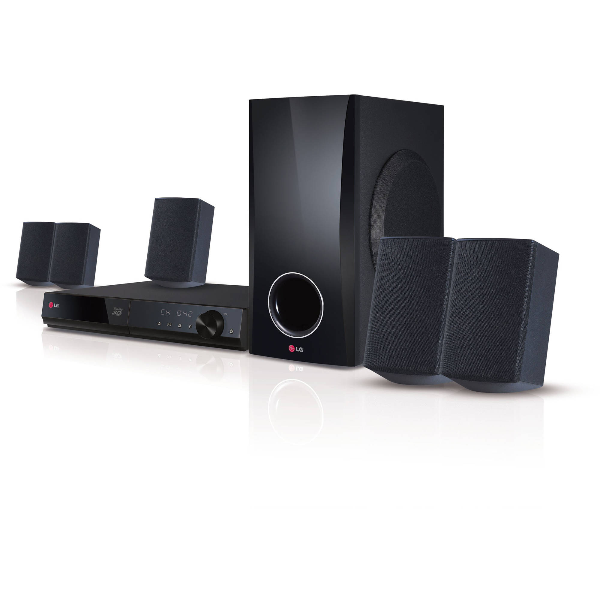 Regent home theater system model ht-2004