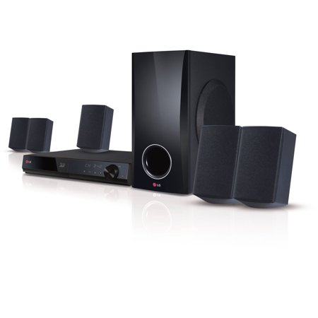 Lg 5 1 Channel 500W Smart 3D Blu Ray Home Theater System  Bh5140s