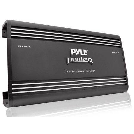 Pyle 2 Ch 5000 Watts Bridgeable Mosfet Amplifier