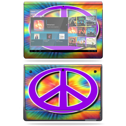 Mightyskins Protective Vinyl Skin Decal Cover for Sony Tablet S wrap sticker skins Beaming Heart