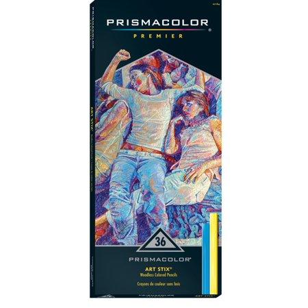 Prismacolor Premier Art Stix, Assorted Color, Set of 36 (Prismacolor Art Stix)