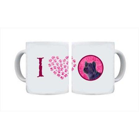 Skye Terrier Dishwasher Safe Microwavable Ceramic Coffee Mug 15 ounce SS4739