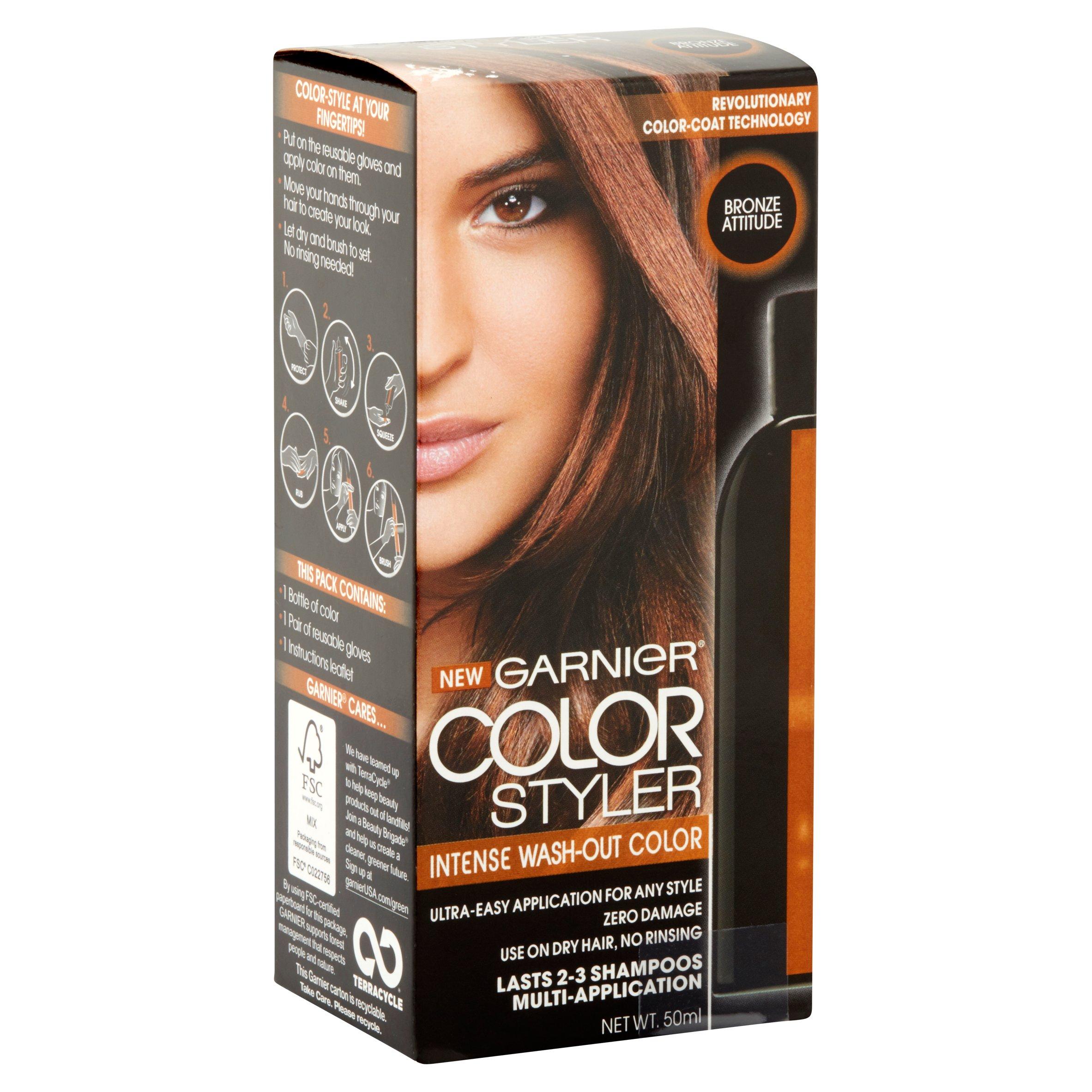 Mg Nutrisse Garnier Color Styler Bronze Attitude Walmart