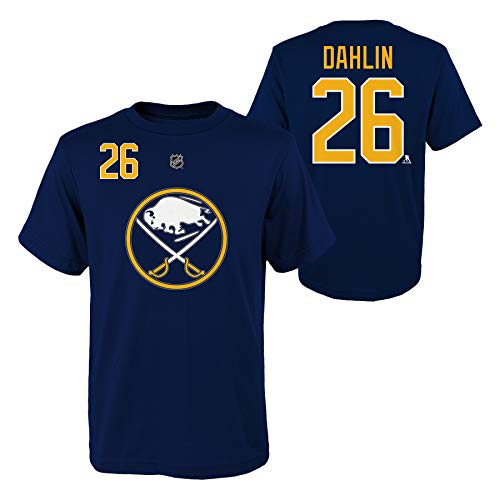 51550a68031 ... where to buy outerstuff youth buffalo sabres rasmus dahlin nhl player t shirt  navy xl 70b60