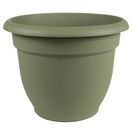 "Bloem Ariana Self Watering Planter 16"" Living Green"
