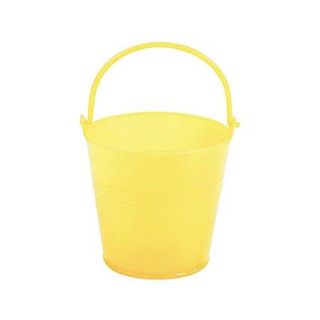 Fun Express Bright Yellow Plastic Pails (1 Dozen)