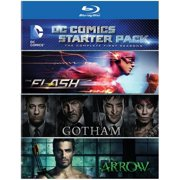 DC Comics Starter Pack: Season 1s (The Flash   Gotham   Arrow) (Blu-ray) by WARNER HOME VIDEO