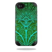 Mightyskins Protective Vinyl Skin Decal Cover for Mophie Juice Pack Plus iPhone 4 / 4S External Battery Case wrap sticker skins Floral Design