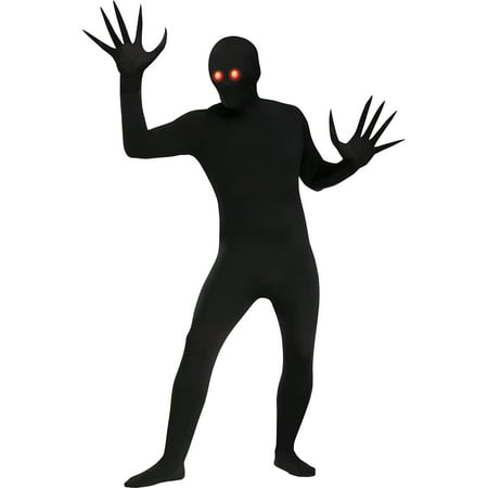 Fade Eye Skin Suit Adult Halloween Costume](Black Suit Spiderman Costume)