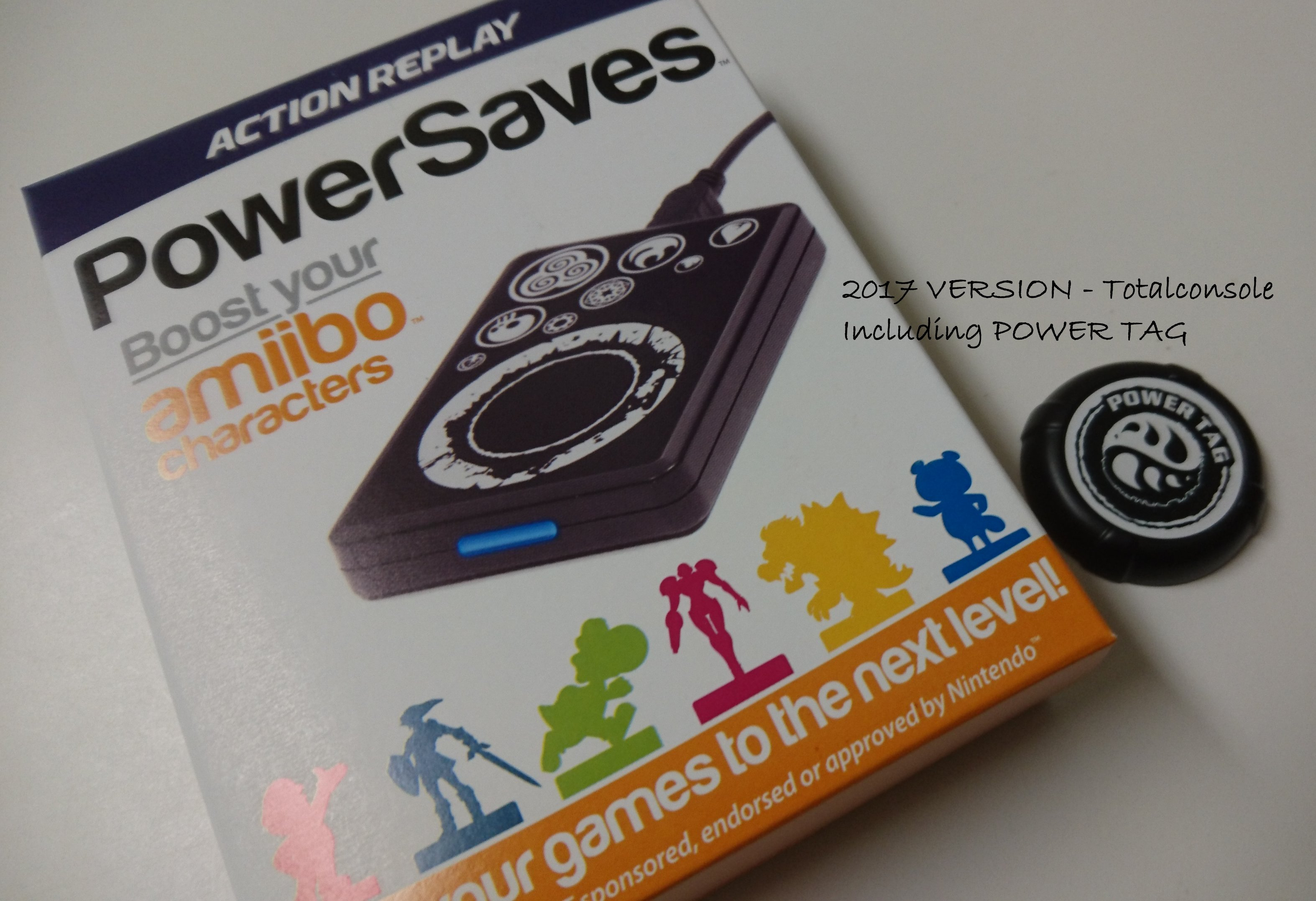 Datel Action Replay - Amiibo Power Saves Plus Power Tags for NintendoWiiU  and 3DS