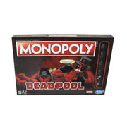 Monopoly Game: Marvel Deadpool Edition, for Kids Ages 16 and Up