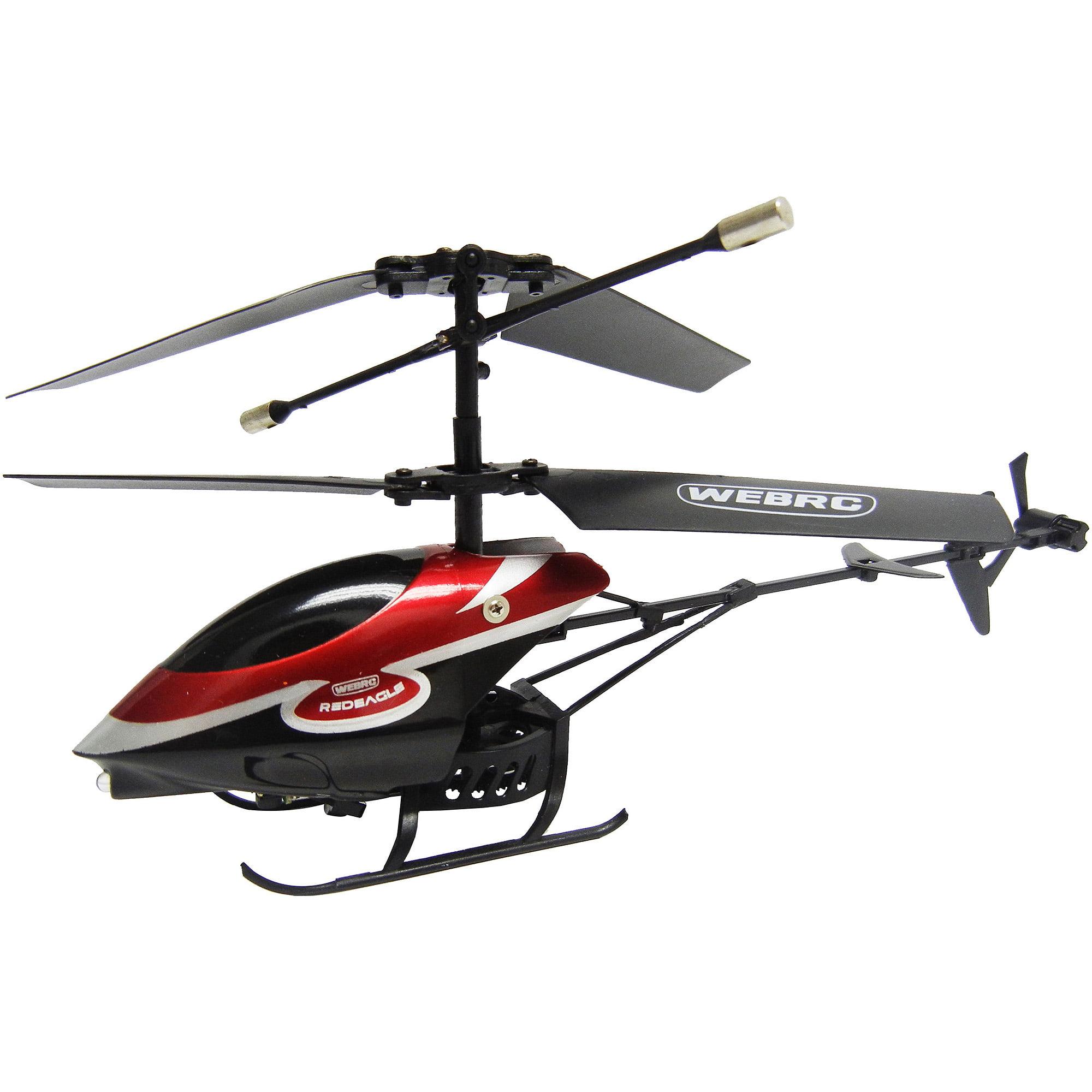 WebRC Red Eagle Helicopter Walmart