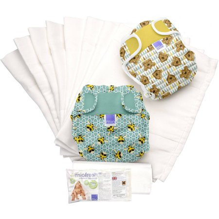 - Bambino Mio Miosoft Diaper Set, Geometric A, (Choose Your Pattern)