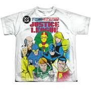 Jla - Return To Greatness - Youth Short Sleeve Shirt - Medium