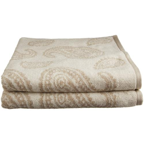Paisley 100% Cotton 2-Piece Towel Set