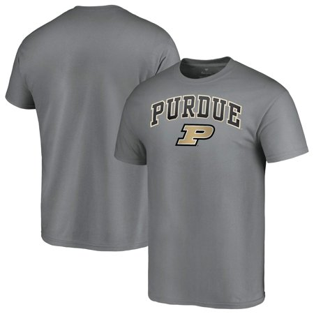 Purdue Boilermakers Fanatics Branded Campus T-Shirt - Charcoal