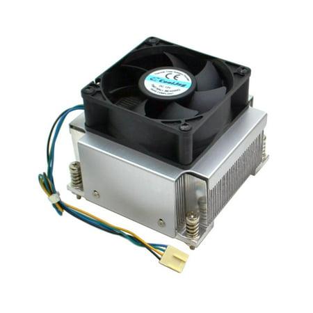 DAY-D-A2 Genuine Cooljag Socket 1356 1366 DC 12V Aluminum Heatsink Cooling FAN Processor Coolers