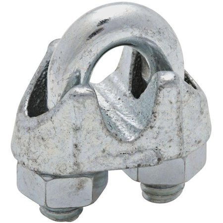 National Hardware MP3230B Wire Cable Clamp, 1/4 in, Steel U-Bolt ...