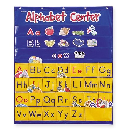 Learning Resources Alphabet Center Pocket Chart, 156 Pieces