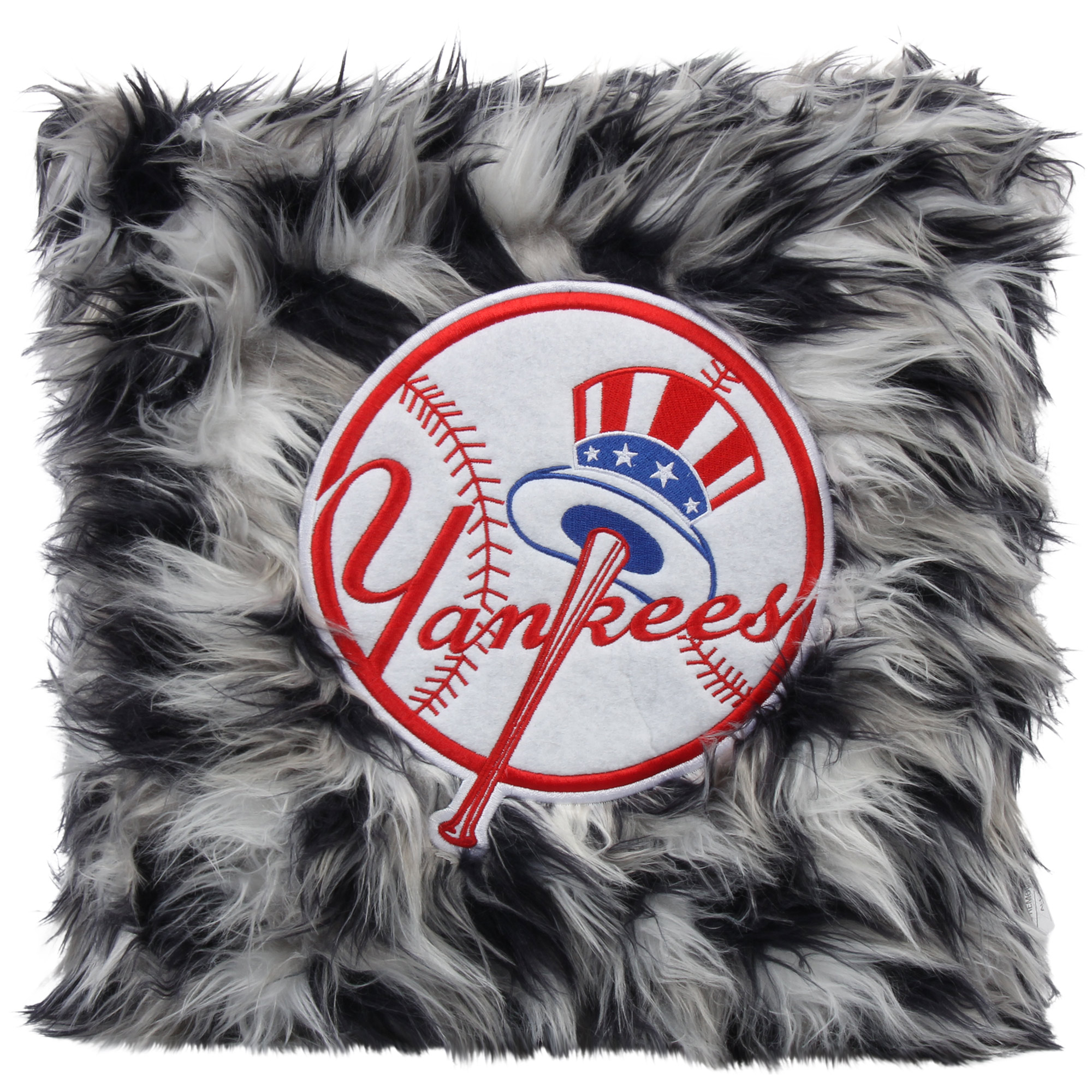 New York Yankees Fluffy Plush Pillow - No Size