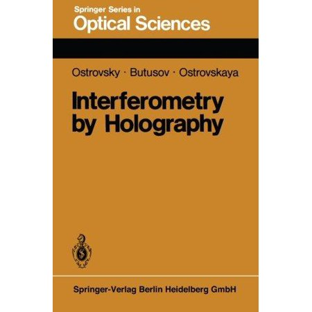 Interferometry by Holography (Springer Series in Optical Sciences) (Volume 20) - image 1 of 1