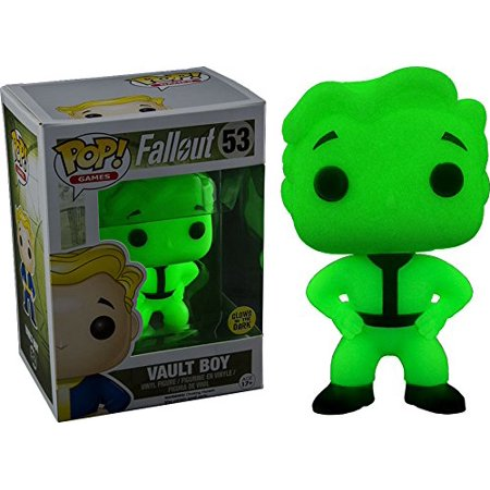Pop! Games: Fallout Vault Boy #53 Exclusive Glows in the Dark, Officially Licensed. Limited edition Hot Topic Exclusive glowing vault boy pop. By FunKo Ship from US - Fallout Vault Suit For Sale
