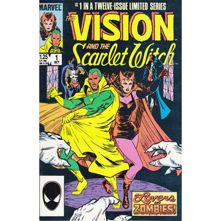 Marvel The Vision and The Scarlet Witch #1 Twelve Issue Limited (Scarlet Witch Marvel)