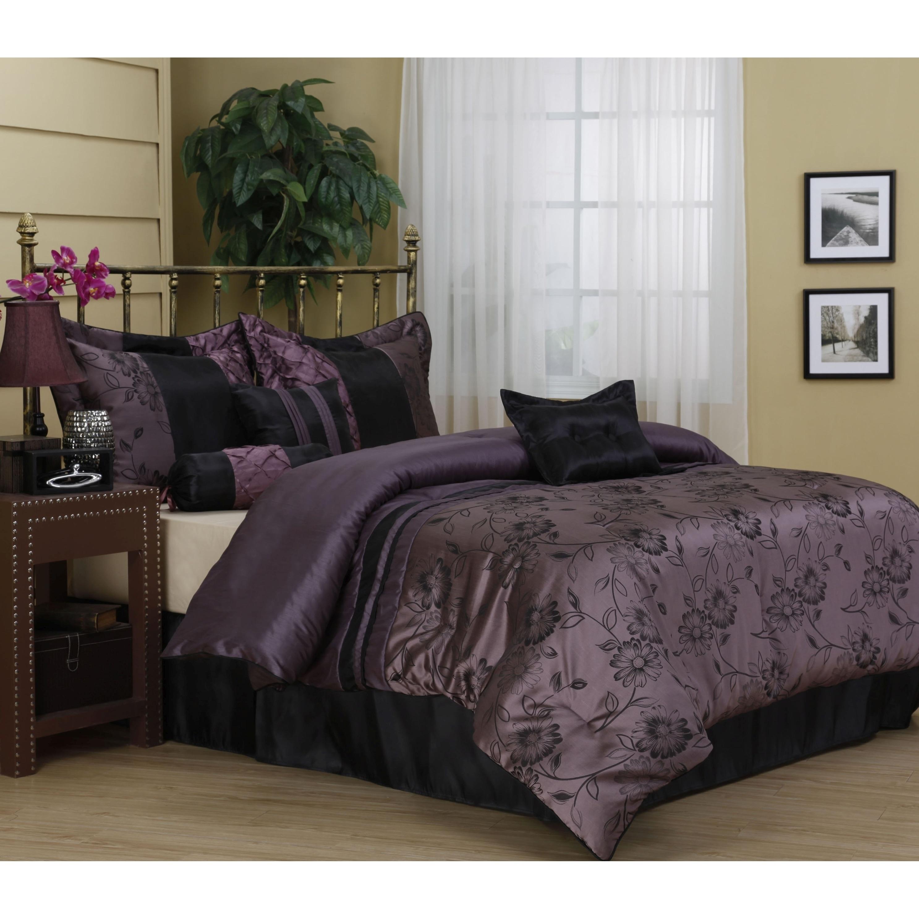 Harmonee 7-Piece Bedding Comforter Set