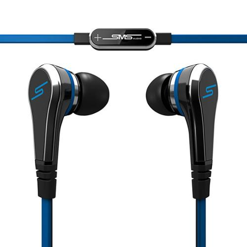 SMS Audio STREET by 50 Wired Earbuds Black