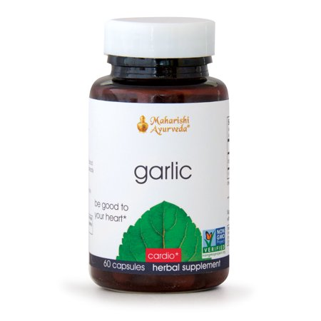 Garlic | 60 Capsules | Helps Maintain Healthy Cholesterol, Blood Pressure & Triglyceride Levels within Normal Range | Supports Digestive, Immune, Respiratory & Circulatory Systems