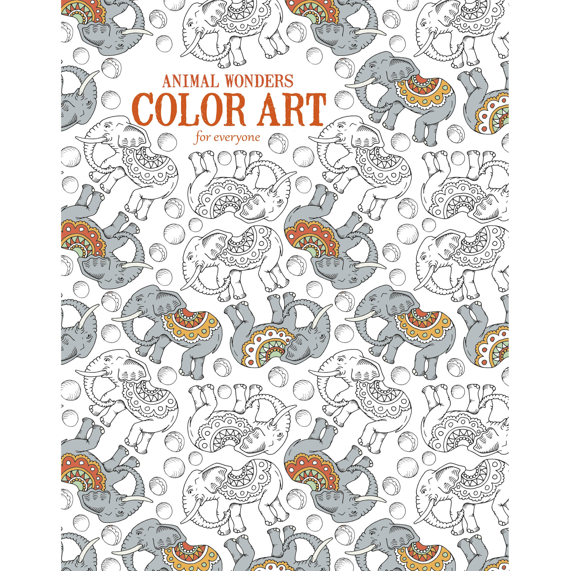 Animal Wonders Color Art for Everyone Adult Coloring Book by Leisure Arts