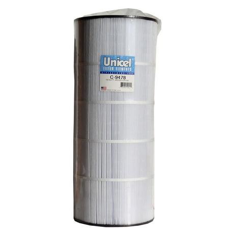 200 Square Foot Cartridge Filter (Unicel C9478 Replacement Filter Cartridge for 150 Square Foot Jacuzzi C-9478)