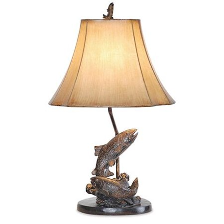 """Vintage Direct 25""""H Fish Table Lamp"""