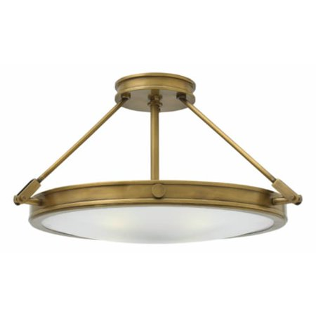 Integrated Bowl - Hinkley Lighting 3382-LED Collier 1-Light 22