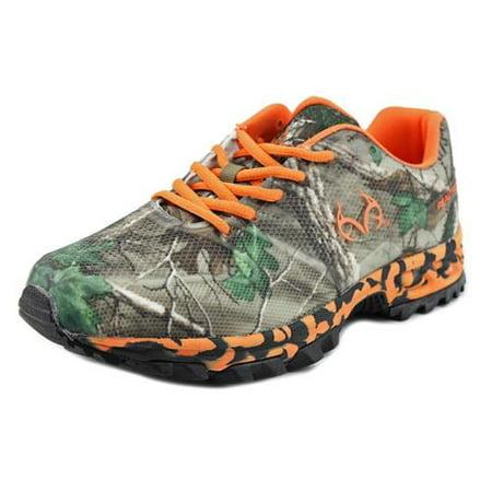 Realtree - RealTree Outfitters Men s Cobra Hiking Shoes Camo  amp  Orange  10 M - Walmart.com 762f8d1d4a3