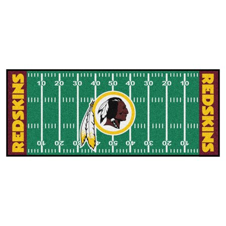 NFL Washington Redskins Football Field Runner
