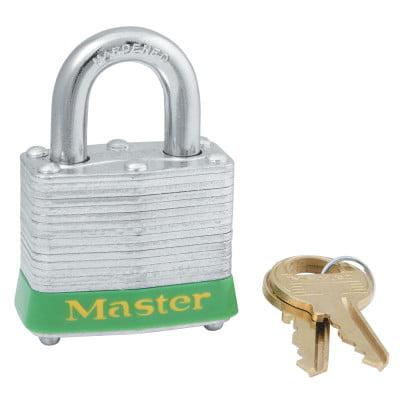 """Lockout Padlock,KD,Red,1-1/4""""H MASTER LOCK 3LHRED"""