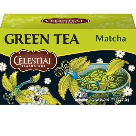 Celestial Seasonings Green Tea, Matcha, 20 Count