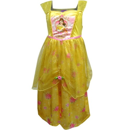 disney beauty and the beast dress like belle princess nightgown - Disney Princess Dressing Gowns