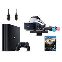 PlayStation VR Start Bundle 5 Items: VR Start Bundle,PS 4 Pro 1TB,VR game disc Resident Evil 7: Biohazard