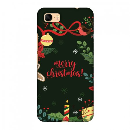 Asus ZenFone 3s Max ZC521TL Case - Christmas Cheer 1, Hard Plastic Back Cover. Slim Profile Cute Printed Designer Snap on Case with Screen Cleaning Kit ()
