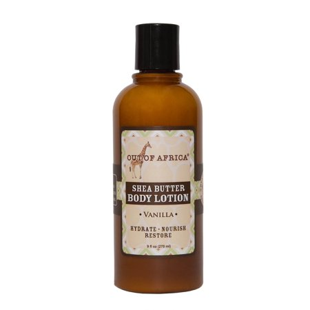 Tropical Butter (Out Of Africa Body Lotion with Organic Shea Butter, Tropical Vanilla, 9 fl Oz)