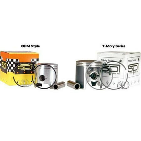 Sports Parts Inc SM-09081-4 T-Moly Series Piston Kit - 0.50mm Oversize to 77.00mm