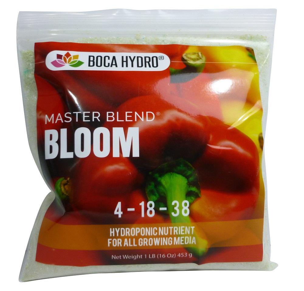 Boca Hydro Masterblend Bloom Nutrient 1 LB Water Soluable Fertilizer