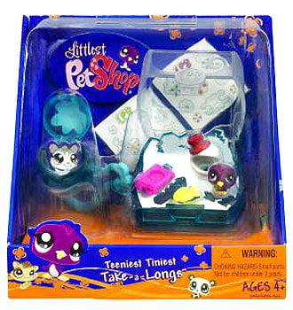 Littlest Pet Shop Teeniest Tiniest Take-A-Longs Mini Figu...