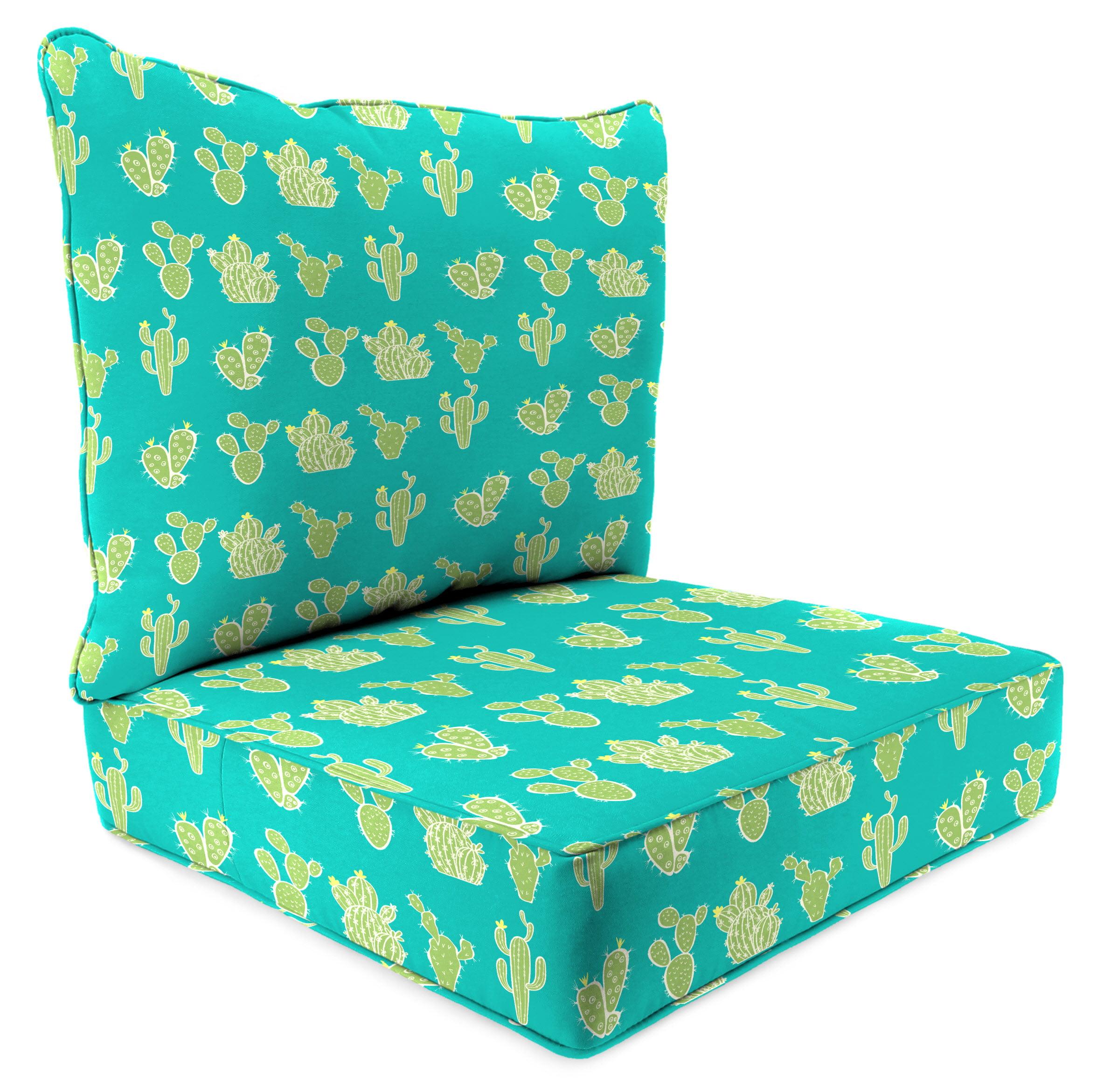 Mainstays Cactus Outdoor Deep Seating Cushion Set