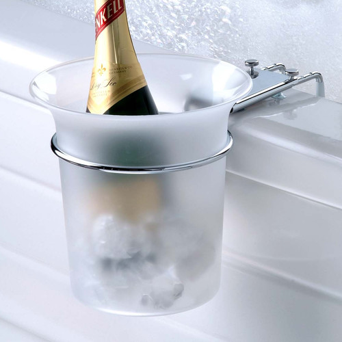 Wildon Home Frosted Acrylic Bath Caddy by