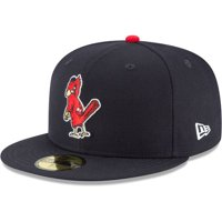 quality design cd3c4 489fa Product Image St. Louis Cardinals New Era Cooperstown Collection Wool  59FIFTY Fitted Hat - Navy