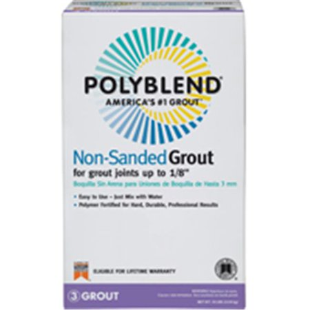 10 Lb. Natural Gray Non-sanded Polyblend Grout, Custom BLDG, (Gray Sanded Grout)