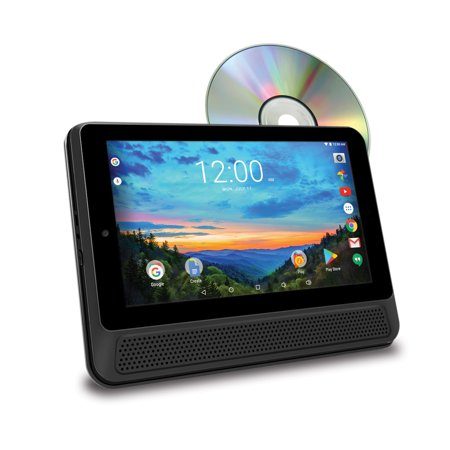 rca 10 tablet portable dvd player combo 16gb android 6. Black Bedroom Furniture Sets. Home Design Ideas